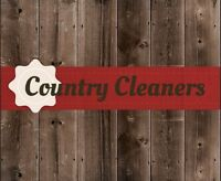 Country Cleaners is hiring!