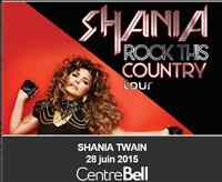 Shania Twain, 28/06/2015, Centre Bell, Rouge  122-H, 122-M