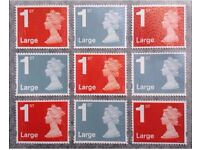 1st & 2nd Class Small & Large Stamps , Unfranked Stamps, Really BARGAIN.Limited Stock