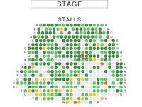 Les Miserables - Saturday 20 Jan 2:30 pm matinee - Two Tickets - Stalls J9 / J10