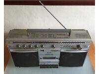 Philips Philips D8514 Power Play Machine SW/MW/FM/LW Cassette Boombox Ghetto Blaster