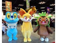 7 Mixed Pokemon mascot costumes for sale