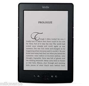 New Black Amazon Kindle 5 ~ 6