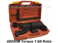 "NEW - 3/4"" Dr Manual Torque Multiplying Wheel Brace HGV Truck Wheel Nut Remover 4800Nm"