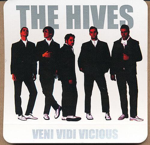 The Hives Veni Vidi Vicious RARE promo stickers (4)