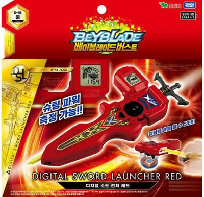 Youngtoys Beyblade Burst B-94 Digital Sword Launcher - Red