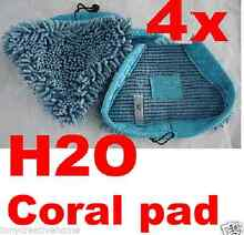 Free 4X Blue Coral Washable Cloth Pads MicroFiber Floor Steam Pad Strathfield Strathfield Area Preview