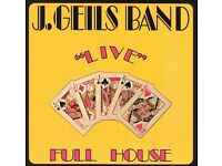 "J.GEILS BAND - ""LIVE"" FULL HOUSE - VINYL LP - USA IMPORT - V/G - £5.00"
