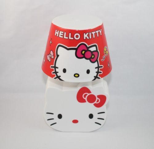 hello kitty night light ebay. Black Bedroom Furniture Sets. Home Design Ideas