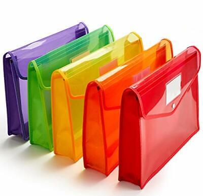 Plastic File Folder Poly Envelope Expanding File Wallet Document Folder