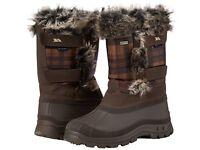 BNIB Tresspass Snow Boots - Worn Once