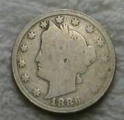 1886 Liberty Nickel