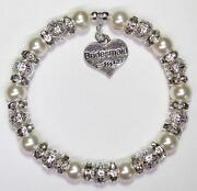 Personalised Bridesmaid Bracelet