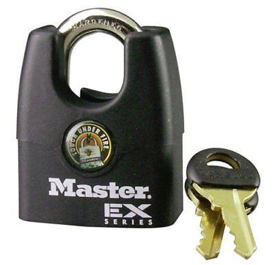 Master Lock 1dex Shrouded Padlock 1-34 Black