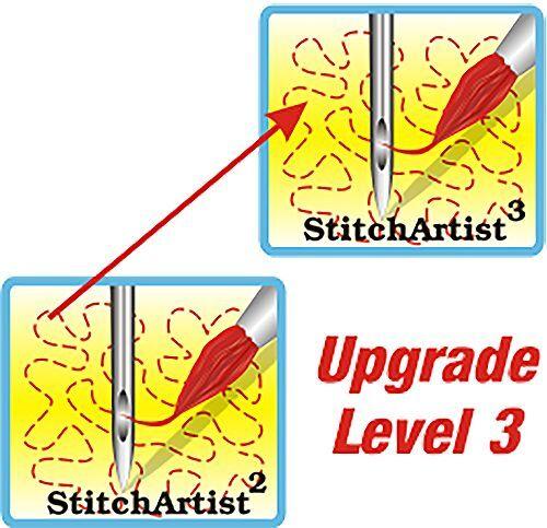 Embrilliance StitchArtist L2 to L3 Machine Embroidery Digitizing Software
