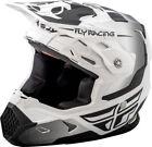Fly Racing Motocross White Helmets
