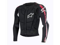 New Light Alpinestars Bionic PLUS JACKET Pressure Suit Body Armour M L XL XXL