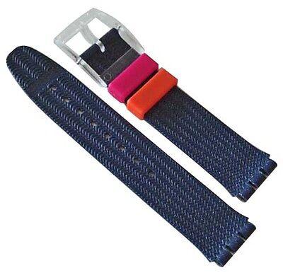 Original Swatch 17mm Kunststoff Armband Flitter Glow ASDK903 Neuware ()