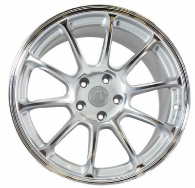 18X9 +30 AodHan AH06 5X114.3 Silver Wheel Fit ACURA RSX TSX TL TLX CONCAVE 5X4.5