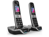 Brand New - BT 8600 Advanced Call Blocker Cordless Phone with Answer Machine (Twin Handsets)