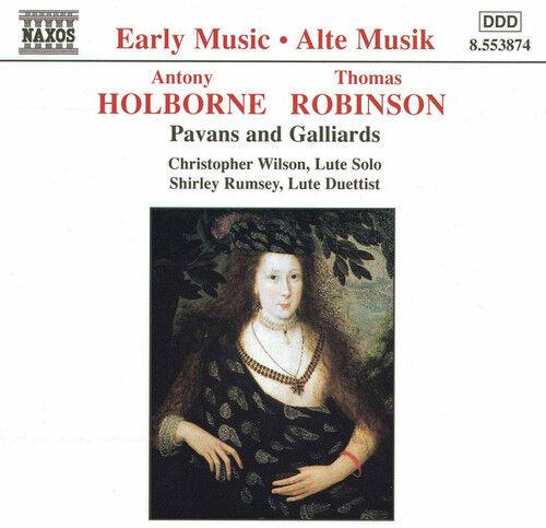 Holborne / Robinson - Lute Music [New CD]