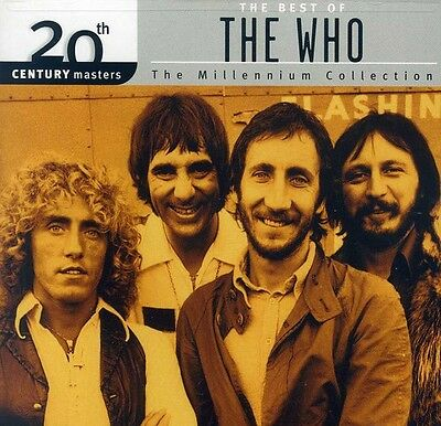 The Who   20Th Century Masters  Collection  New Cd  Jewel Case Packaging
