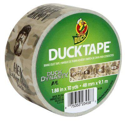 Brand New 4 Rolls Of Duck Dynasty Duck Tape 1.88 In X 10 Yds Each Roll