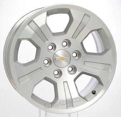 "Chevy Silverado Tahoe Suburban 18"" Z71 OEM Factory GM Wheels Rims Set of 4"