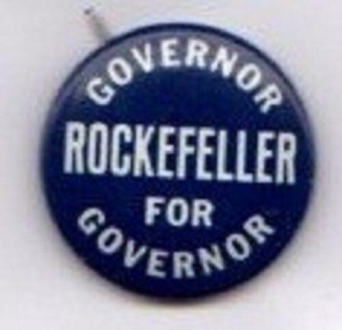 Nelson Rockefeller for Governor of New York Button