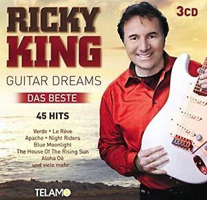 RICKY KING - GUITAR DREAMS-DAS BESTE 3 CD NEU