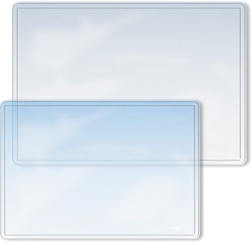 Schreibtischunterlage Schreibtischauflage transparent Auflage Schreibunterlage