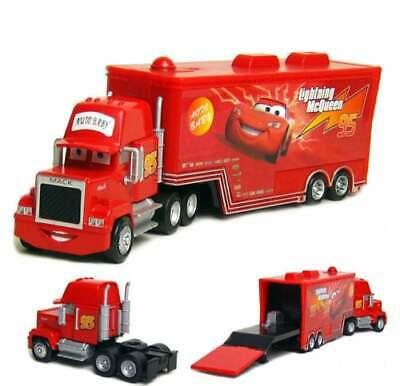 Disney Pixar Cars Lightning McQueen Mack No.95 Truck 1:55 Diecast Toys Loose New