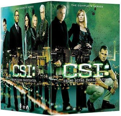 Csi  Crime Scene Investigation   The Complete Series  New Dvd  Boxed Set  Slip