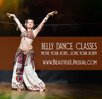 Belly Dance for the Scared & Uncoordinated - classes this fall!