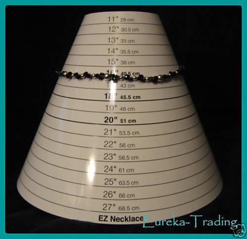 Beading Tool EZ Necklace Sizer Bead Jewelry Mandrel