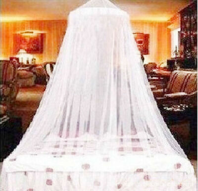 Elegant Mosquito Net Bed Queen Size Bedding Lace Canopy Bird