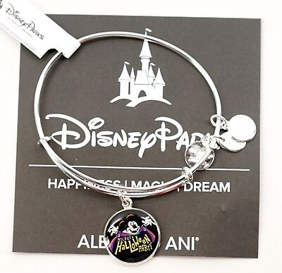 Disney Mickey's Not So Scary Halloween Party 2017 Alex and Ani Bracelet Silver