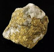 Gold in Quartz Ore