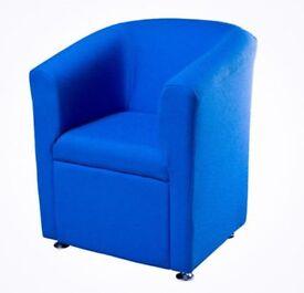 Blue Tube Chair