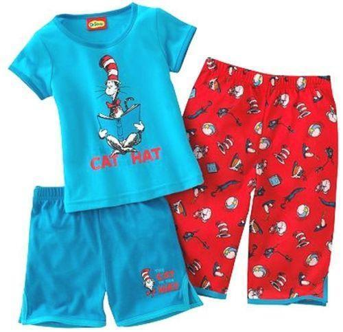 Dr Seuss Pajamas Clothing Shoes Accessories Ebay
