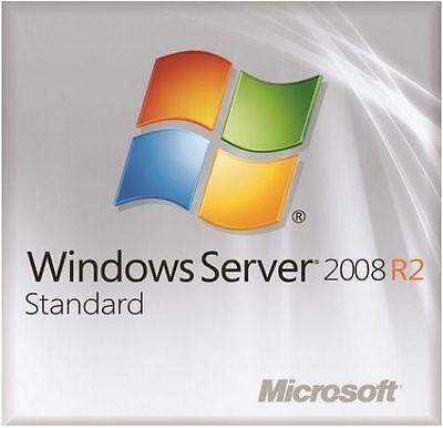 Msft Window Server 2008 R2 Standard Edition 64 Bit X64 1 4Cpu Plus 10 Cal Users