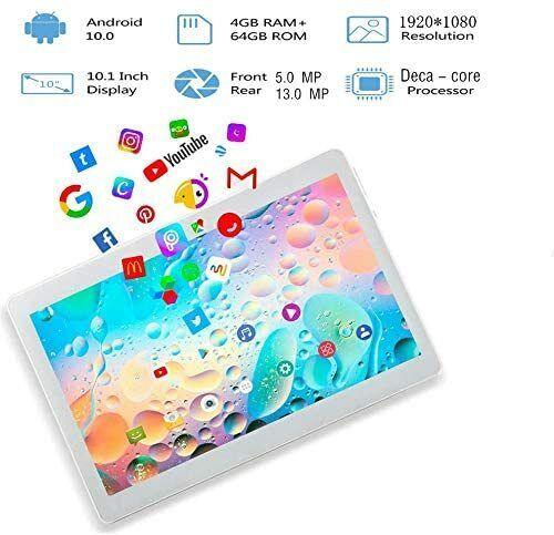 10.1%22+Inch+Tablet+TYD+Deca+core+Android+10%2C+4G+LTE+Dual+SIM%EF%BC%8C4GB+RAM+64GB+Storage