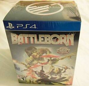(PS4) Battleborn with collectible GameStop figure (sealed/new)