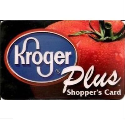 Kroger Plus Card 1000 Fuel Points Reward Save $35 on Gasoline Expire 07/31//2018