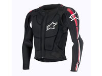New Light Alpinestars Bionic PLUS JACKET Pressure Suit Body Armour M L XL XXL