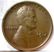 1914 D Lincoln Cent VF