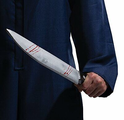 Butcher Halloween Costume (Rubie's Costume Halloween Movie, Large Butcher Knife Multicolor, One)