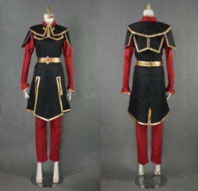 Azula Cosplay Costume from Avatar The Last Airbender - Custom-made Aa