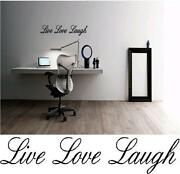Wall Stickers Quotes Live Laugh Love