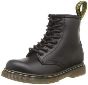 NEW Dr. Martens Brooklee Boot (Toddler), Black Softy - Size 8 US